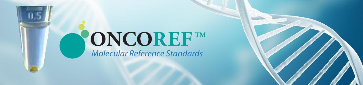ONCOREF Molecular Reference Standards banne