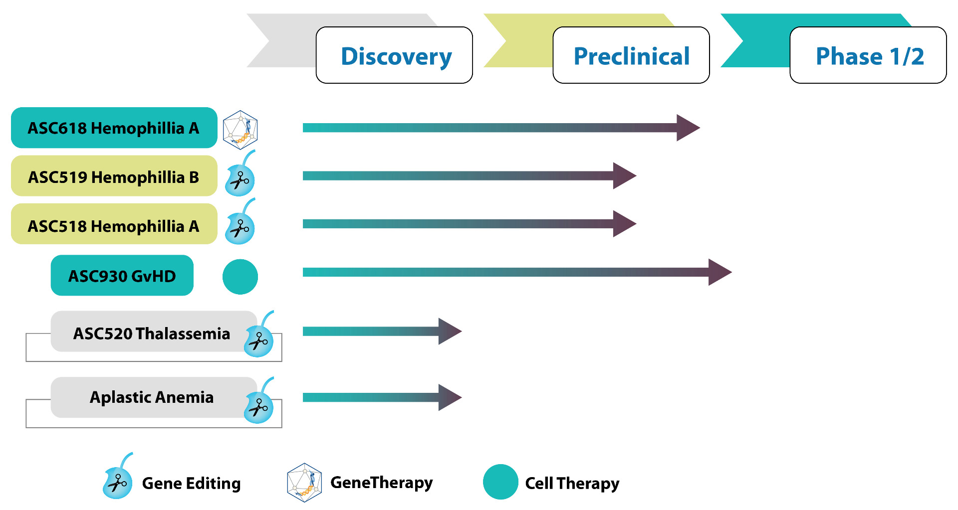 Applied StemCellTheraputic Development Timeline